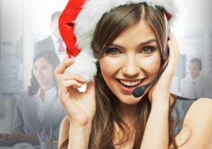 24-7-call-center-female-agent-with-santa-hat