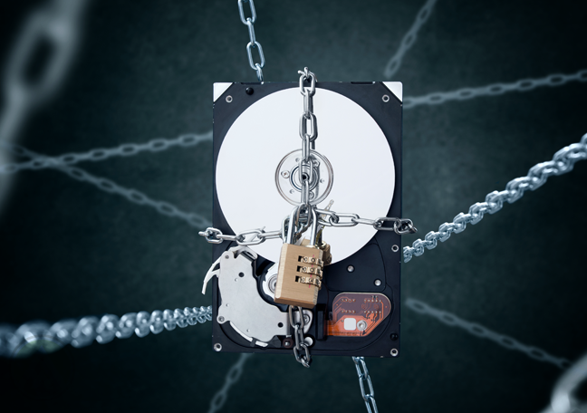 internal-hard-dish-drive-wrapped-in-chains-with-padlock