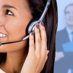 smiling-female-call-center-agent-applicants-background
