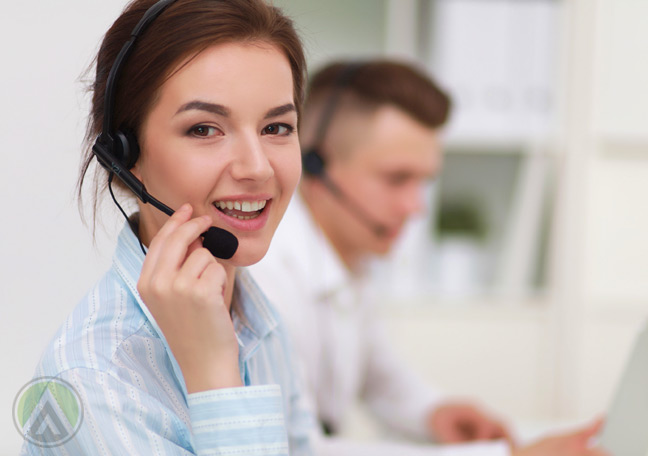 female-call-center-agent-in-call-delivering great-customer-experience