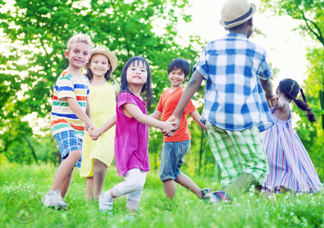 children-in-colorful-clothes-playing-in-the-field