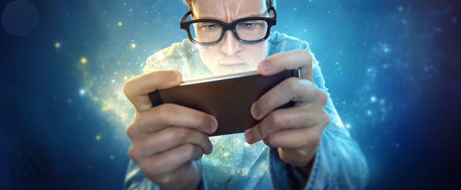 man-in-glasses-using-smartphone