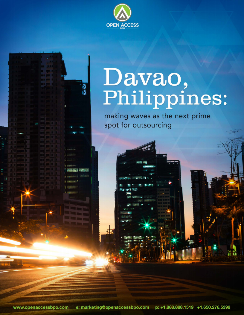 Studies - Davao, Philippines: Making waves as the next prime spot for outsourcing