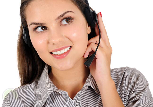 smiling-customer-service-agent-listening-to-call-center-customer