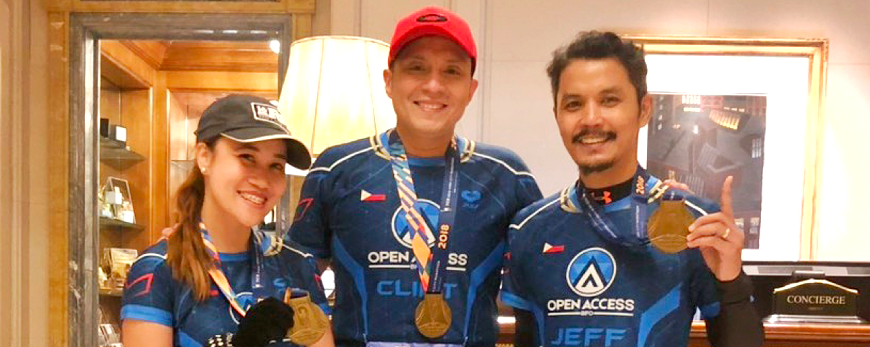 3 Open Access BPO employees finish TCS NYC Marathon 2018